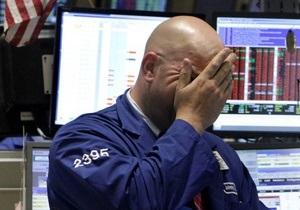 Американские рынки упали из-за банкротства MF Global