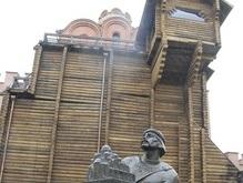 На Золотых Воротах в Киеве появились трещины