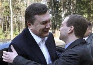 Янукович и Медведев встретятся 21 апреля в Харькове