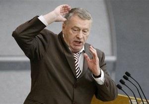 Жириновский призвал Россию больше не помогать Украине