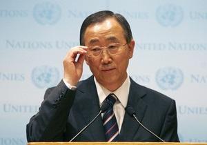 Конфликт между израилем и палестиной: Генсек ООН призвал Израиль и Палестину ответственно отнестись к переговорам