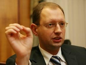 Яценюк представит новую политическую силу через месяц