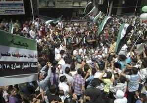 Сирия: в Алеппо прошли протестные выступления