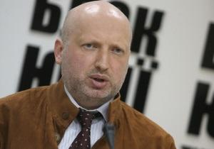 Турчинов: На теле Тимошенко появились обширные кровоизлияния - более 15 см