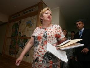 Ульянченко предложила на пост киевского губернатора своего бывшего зама Вакараш