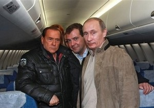 Дворец Киджи: Берлускони никогда не сравнивал Медведева и Путина