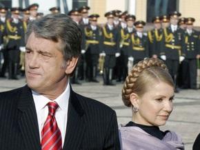 Ъ: Юлия Тимошенко и Виктор Ющенко разъехались по газовым вопросам