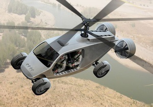 Американская компания разработала для Пентагона вертолет-внедорожник