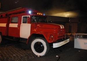 В Киеве горел склад Сухопутных войск