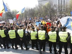 В Кишиневе возобновились акции протеста