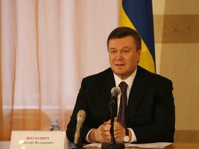 Янукович: Провести досрочные выборы Рады уже нереально