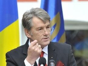 Ющенко поручил обеспечить охрану суверенных прав Украины в районе острова Змеиный
