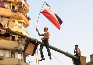 Демонстрация правящей партии Египта собрала 10 тысяч человек