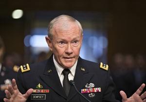 Американский генерал оценил затраты на вмешательство в сирийский конфликт
