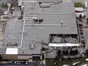 На фабрике в США обрушилась крыша: пострадали 20 человек