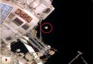 Американский астронавт обнаружил НЛО неподалеку от МКС