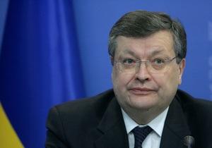 Атмосфера меняется. Грищенко пришлось выслушать резкие заявления европарламентариев в Брюсселе