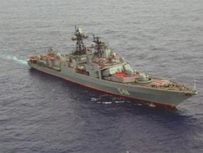 Российский корабль задержал судно с сомалийскими пиратами