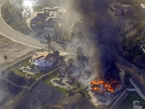 Фотогалерея: Калифорния во власти огня