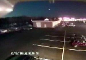 Новости науки - космос - метеориты: NASA: Пролетевший над восточным побережьем США метеорит был одиночным болидом