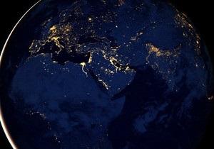 Спутник Суоми запечатлел Землю ночью