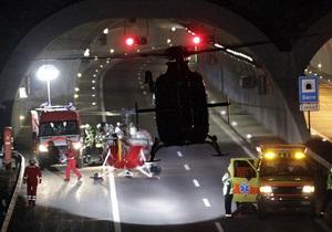 Автобус с бельгийскими детьми, разбившийся в Швейцарии, мог превысить скорость