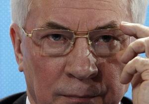 Азаров воздержался от комментариев по газовым переговорам с Россией