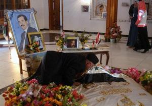 В Ираке закрыли мавзолей Саддама Хусейна