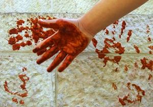 Во Франции женщина напала с ножом на соцработника из-за плохо наряженной елки