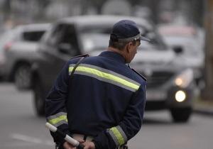 В связи с визитом Путина ГАИ просит водителей  воздержаться от поездок в центр Киева