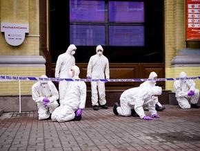 Возле PinchukArtCentre появилась инсталляция, посвященная эпидемии гриппа