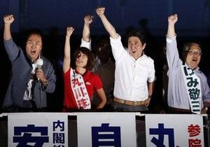 Новости Японии - В Японии правящая коалиция получила более 50% мест в палате советников - парламент Японии - выборы в Японии