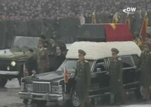 Инсценировка массовой скорби в Северной Корее