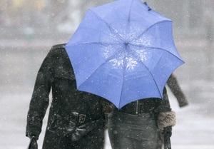 Прогноз погоды: в Украине ожидается дождь с мокрым снегом