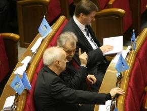 Партия регионов обвинила коммунистов и Литвина в предательстве