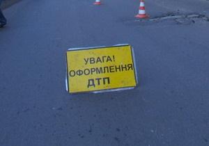 Во Львове перевернулась маршрутка: 12 госпитализированных