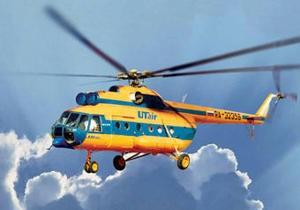 Задержанный в Судане российский вертолет вернулся на базу