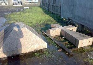 В Кривом Роге разбили памятник Борцам за свободу Украины