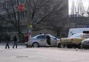 В Киеве водитель Chevrolet сбил велосипедиста