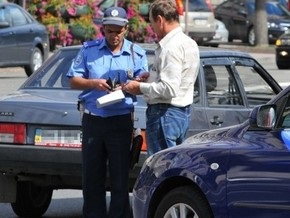 Киевские гаишники в этом году 150 раз отказались от взяток