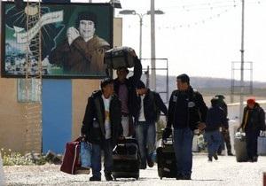 Италия намерена помочь Тунису справиться с наплывом беженцев из Ливии