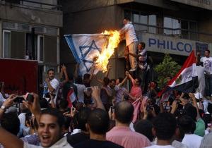 В Каире за беспорядки у посольства Израиля арестовали 130 человек
