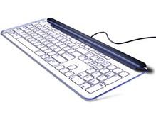Дизайнер создал бескнопочную стеклянную клавиатуру