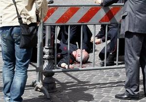 новости Италии - правительство Италии - Под офисом премьера Италии открыли стрельбу во время присяги нового правительства