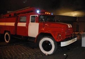 Накануне Старого Нового года во Львове горел горсовет