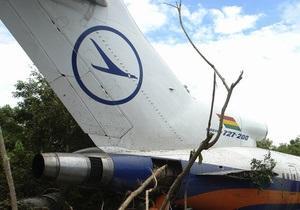 В Мексике на сьемках передачи Discovery разбили Boeing-727