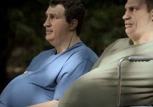 В немецкой рекламе братья Кличко стали ожиревшими