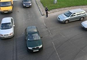 С сегодняшнего дня в центре Киева ограничено движение транспорта. Список улиц