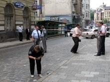 Фотогалерея: Место преступления центр Львова