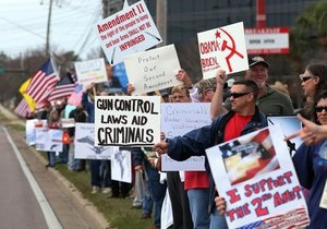 Ограничение оборота оружия в США - протест в США - Оружие в США